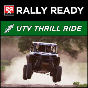 Rally Ready UTV Thrill Ride