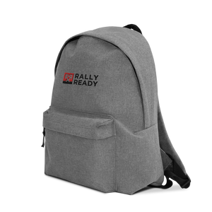 Embroidered Rally Ready Backpack