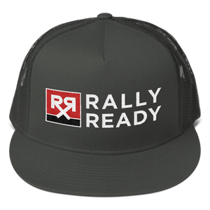 Rally Ready Snapback Mesh Trucker Hat