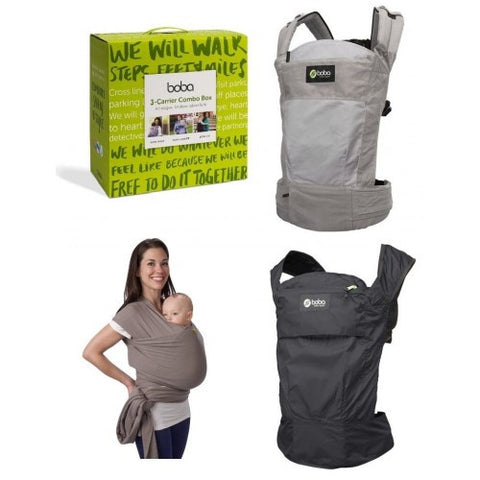 3-in-Combo Box Boba Baby Carriers