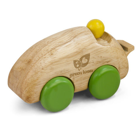 6'' Wooden Whistle Race Car