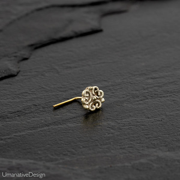 Indian Flower Nose Stud