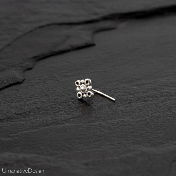 Sterling Silver Indian Nose Stud