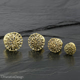 Flower Mandala Ear Tunnels