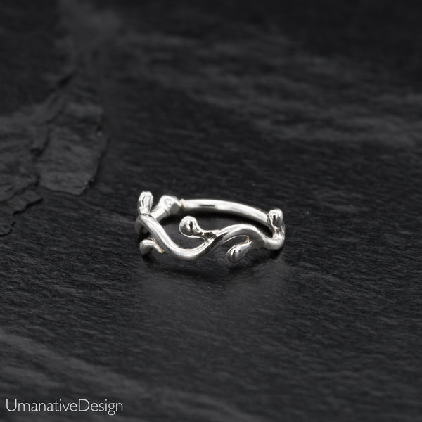 Unique Sterling Silver Nose Ring