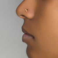Tribal Gold Nose Stud