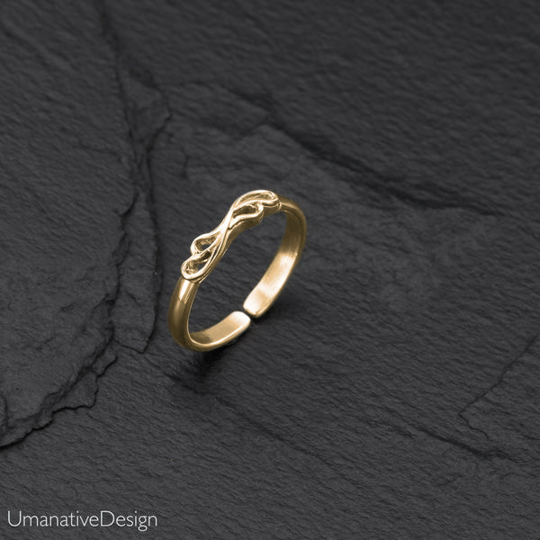 Brass Toe Ring For Woman