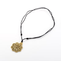 Bohemian Lotus Necklace