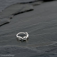 Tribal Sterling Silver Nose Ring