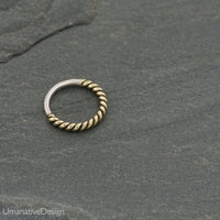 Twisted Wire Nose Ring