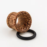 wood tunnels. organic plugs. tribal. boho
