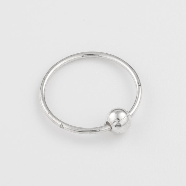 18g Sterling Silver Nose Ring
