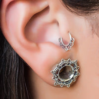 22k Gold Plated Sterling Silver Tragus Earring