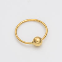 18k Solid Gold Nose Ring