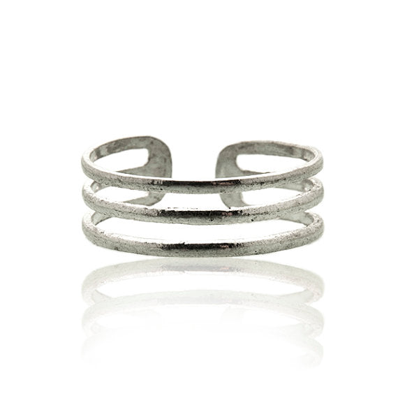 Minimalistic Sterling Silver Toe Ring