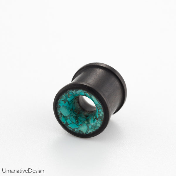 turquoise tunnel plugs