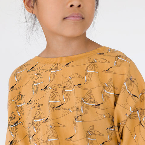 Sweat ocre oies sauvages