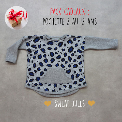 Patron enfant Sweat Jules Pack du 2 au 12 ans