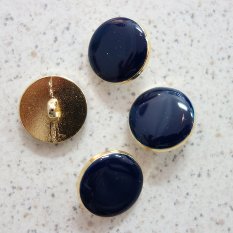 Boutons marine cerclage or 18 mm