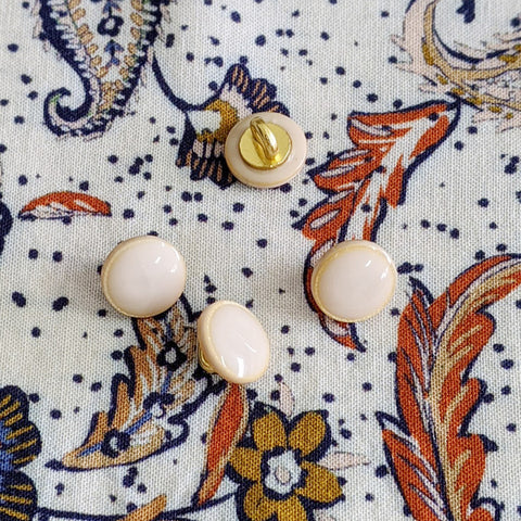 Boutons émaille craie (collection capsule)