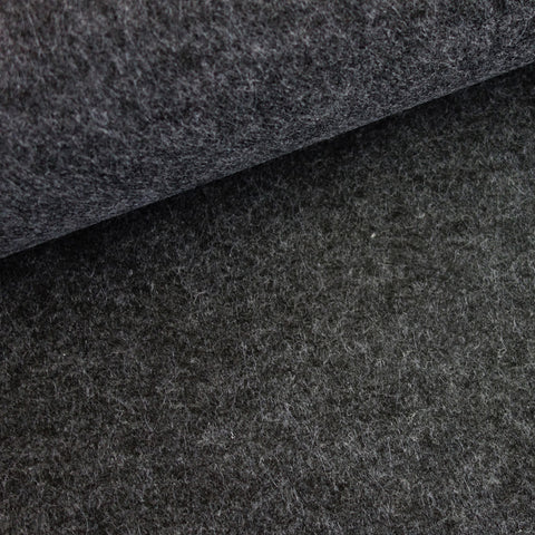 Feutrine 3 mm gris anthracite