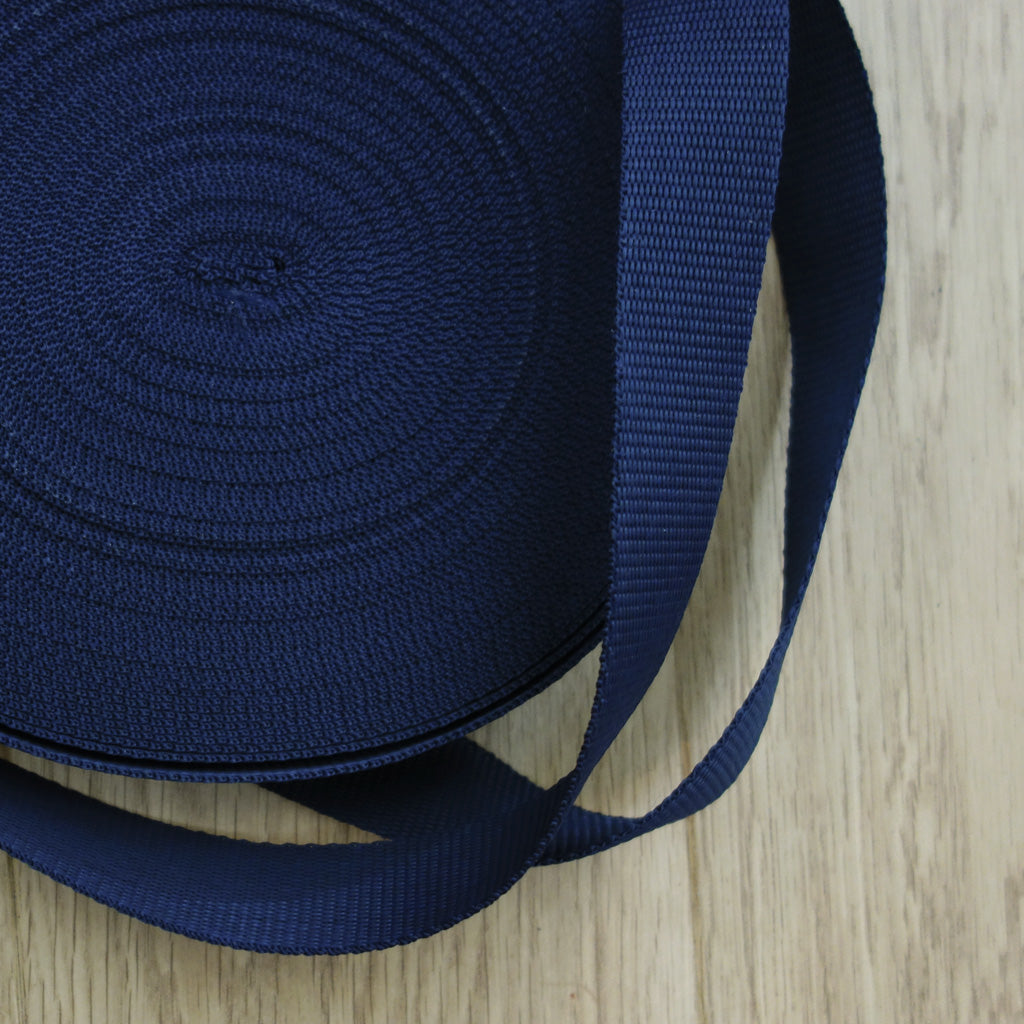 Sangle sac banane bleu marine