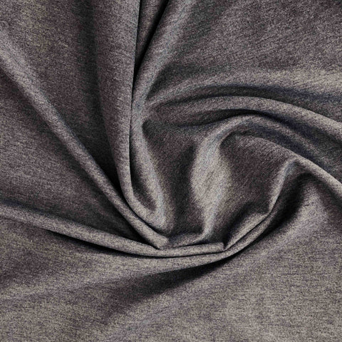 Sweat fin gris chiné anthracite