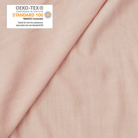 Viscose lin rose nude