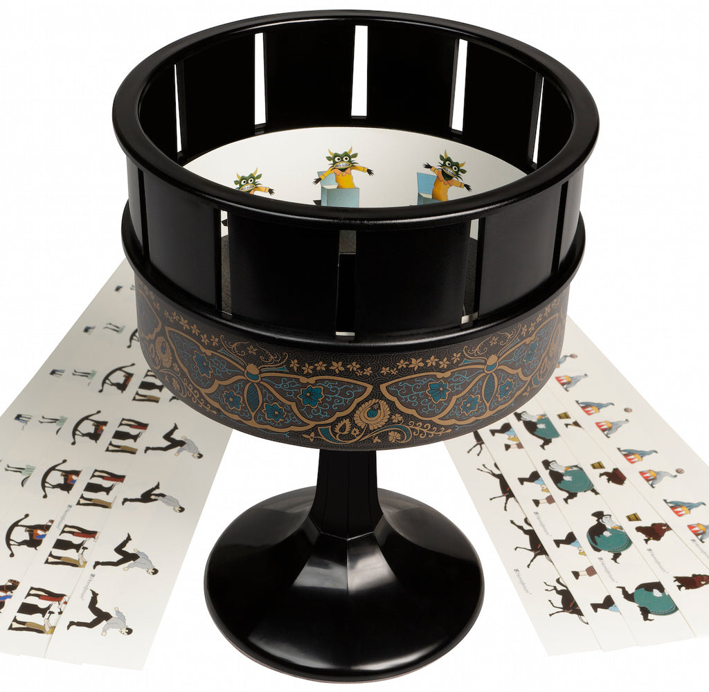 My Love of the Magic Lantern, Zoetrope Praxinoscope