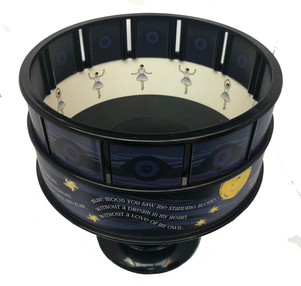 Zoetrope Animation Toy - Large - Lunar Moon Design