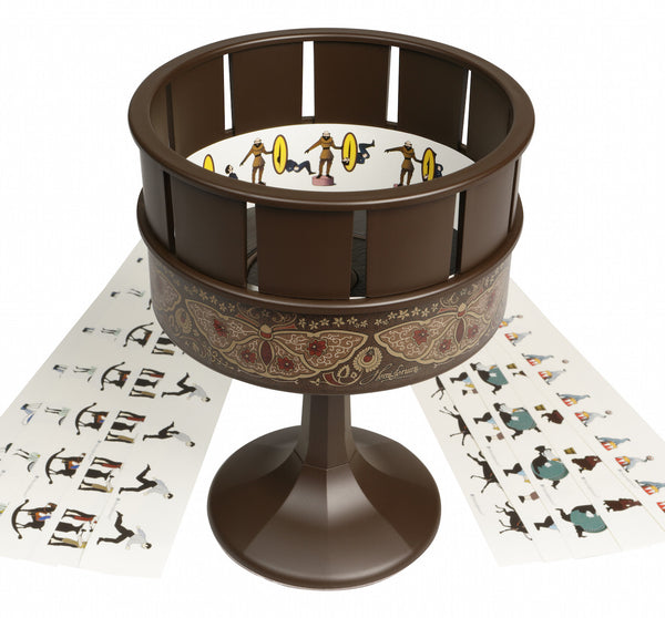 Zoetrope Animation Toy Brown