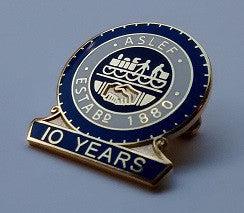 10 year society badge (new)