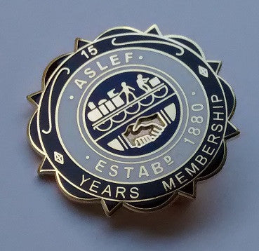 15 year society badge (new)