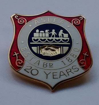 20 year society badge (new)