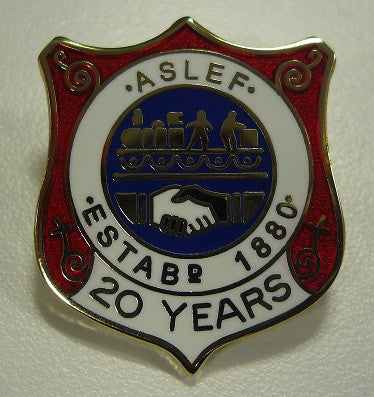 20 year badge (old)