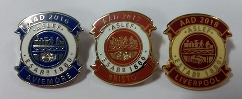 ASLEF AAD badges