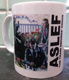 ASLEF Triptych mugs