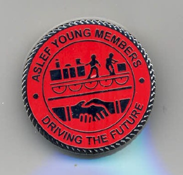 'ASLEF young members' badge