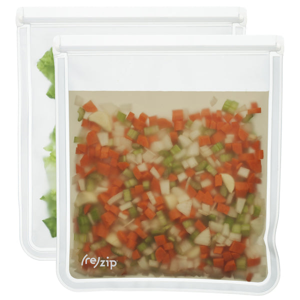 (re)zip 1 Gallon Lay-Flat Food Storage Bags (2-pack)