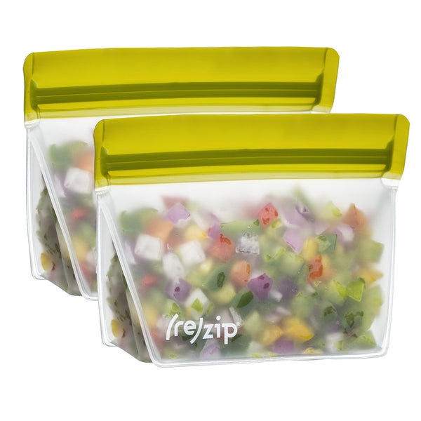 (re)zip 1 cup Stand-Up Food Storage Bags (2-pack)