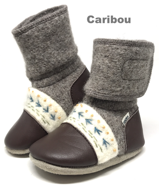 Nooks Design Felted Wool Booties