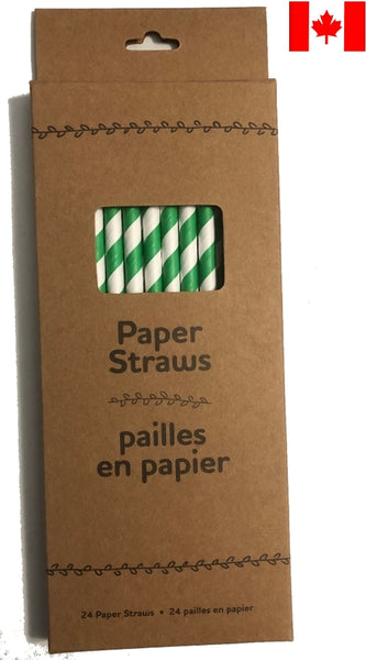 Life Without Waste - Paper Straws 🇨🇦