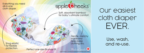 AppleCheeks All In One (AIO) - One Size