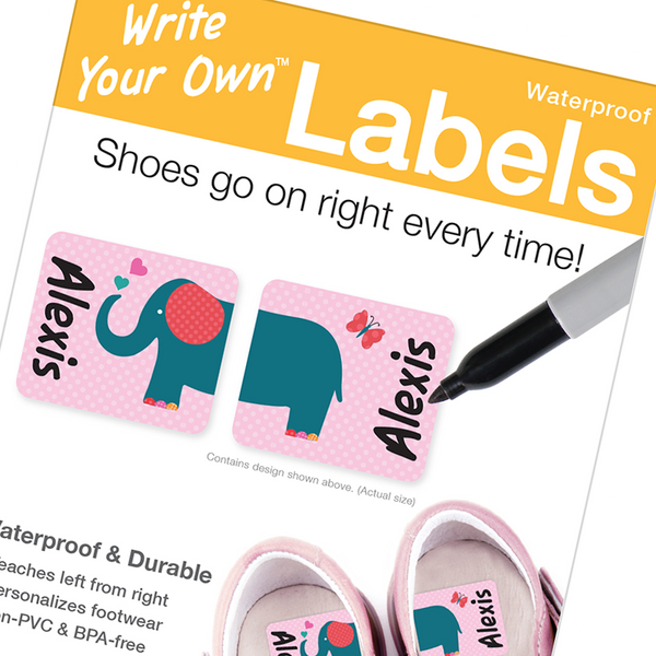 Emily Press Write Your Own Shoe Labels