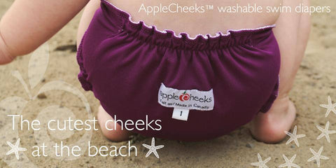 AppleCheeks Swim Diaper - Size 1 & 2 🇨🇦