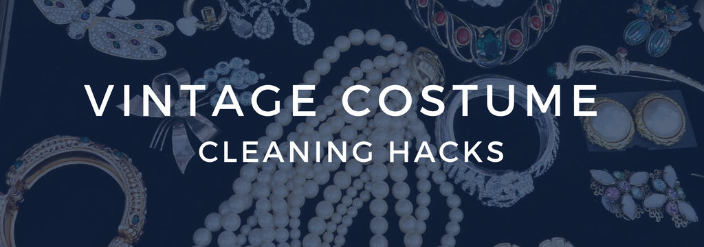 cleaning vintage costume jewelry