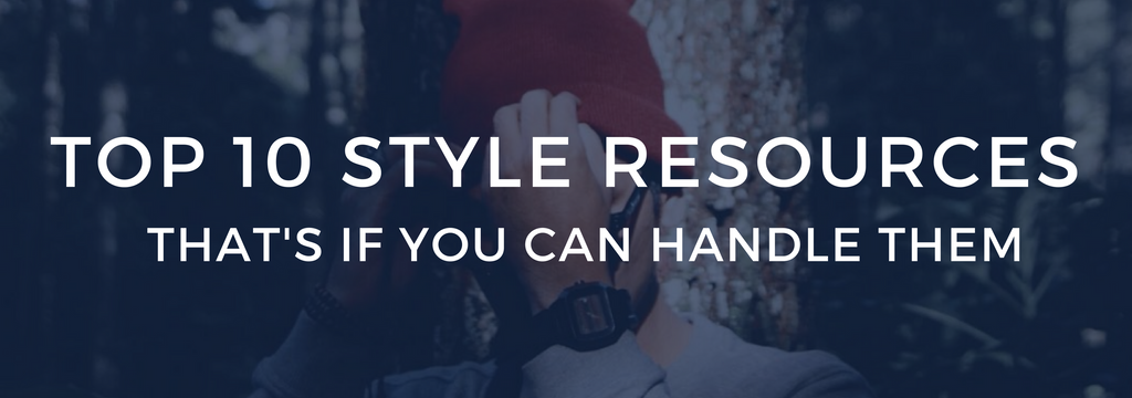 top 2017 style resource