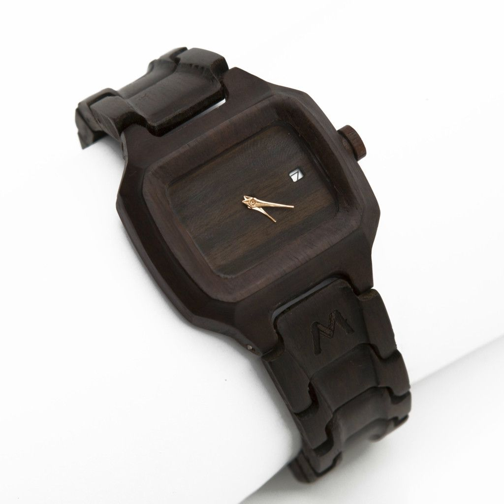 Alor Ebony Wooden Watch