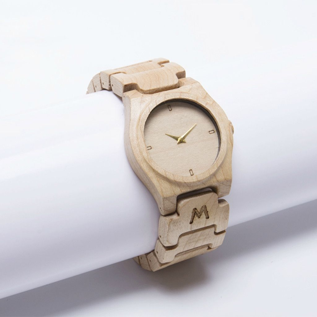 Moyo Maple Wooden Watch