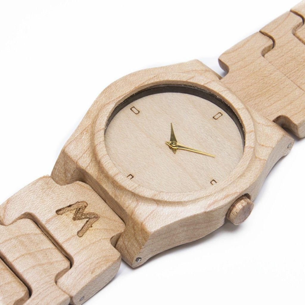 Moyo Maple Wood Watch